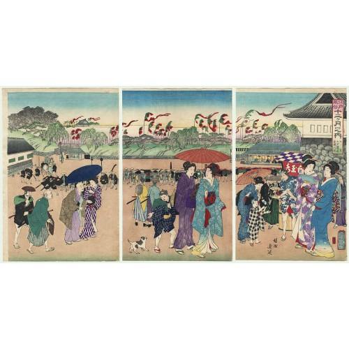 Le festival Tanabata