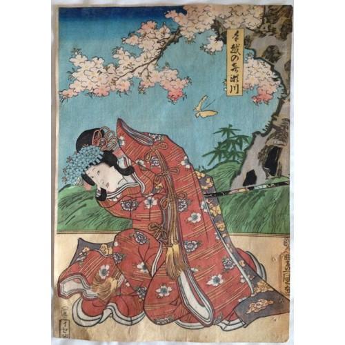 TOYOKUNI III / KUNISADA Utagawa - RR268