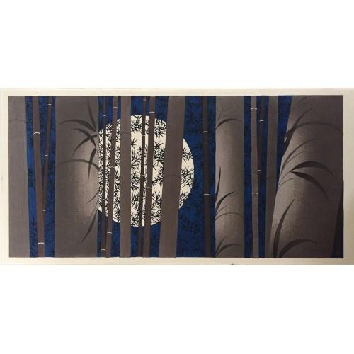 Clair de lune au temple Ryoan