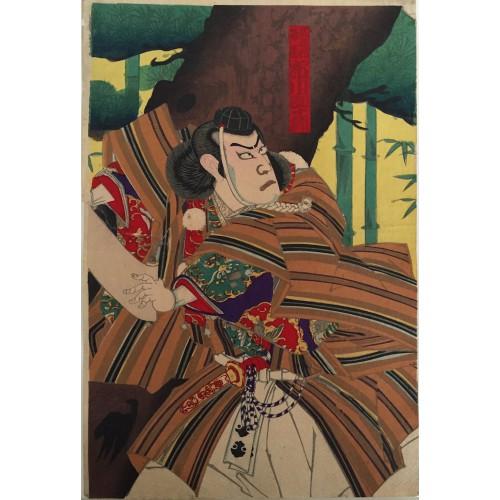 estampes japonaises Musashibo Benkei