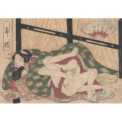 shunga - tendres enlacements