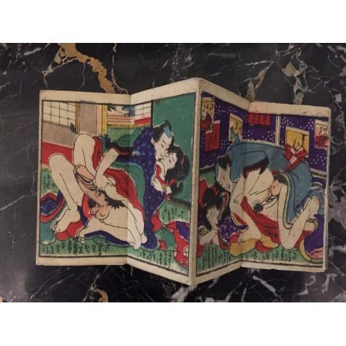 Petit livre shunga plaisirs partagés