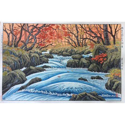 Les rapides Oirase à l'automne