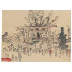 estampe japonaise shin hanga de Akamatsu Rinsaku