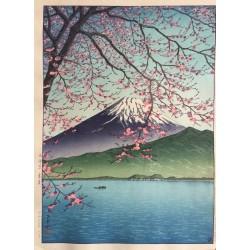 Hasui Kawase - le mont Fuji...