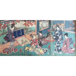 Kunisada Utagawa - Le Kakemono