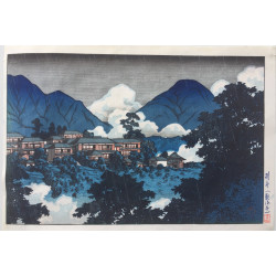 Hasui Kawase - Le temple...