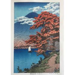 Hasui Kawase - Le lac...