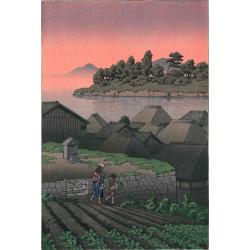 Hasui Kawase - Amakusa Honryo