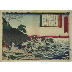 estampe japonaise ukiyoe de Hiroshige III