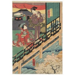Kunisada Utagawa - Hinadori...