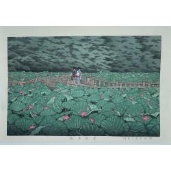 Hasui Kawase - L'étang de...