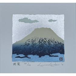Kunio Kaneko brise du matin estampe japonaise