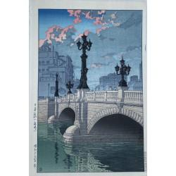 Hasui Kawase - Le pont...