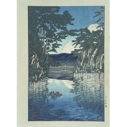 Hasui Kawase - le lac Towada