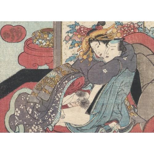 Shunga - Ecole d'Utagawa