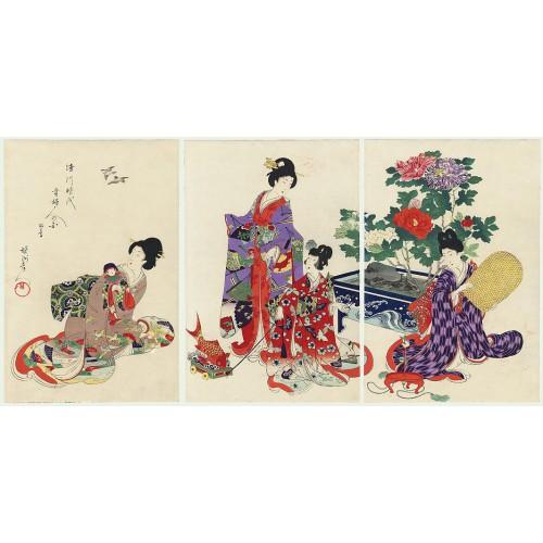 CHIKANOBU Toyohara - RR234