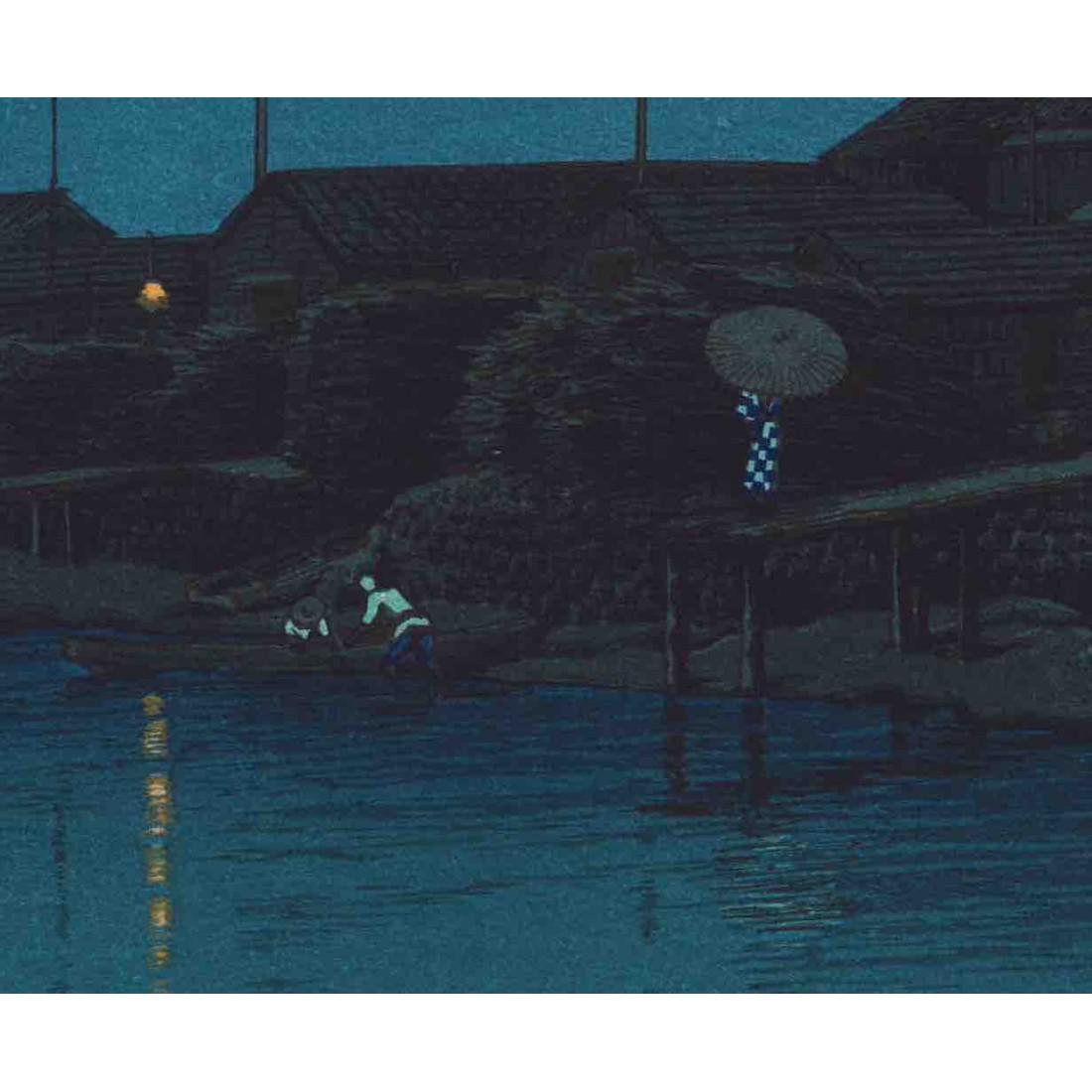 Pluie du soir à Kawarako, Ibaraki